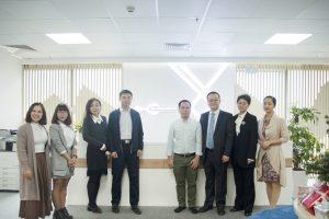 CMDP China và BGI Group đến thăm Viện Công Nghệ DNA