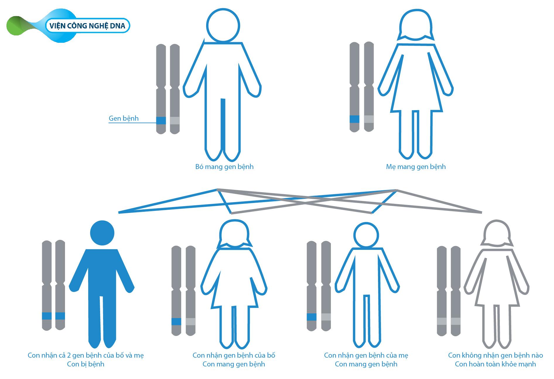 carrier test VIỆN CÔNG NGHỆ DNA 9