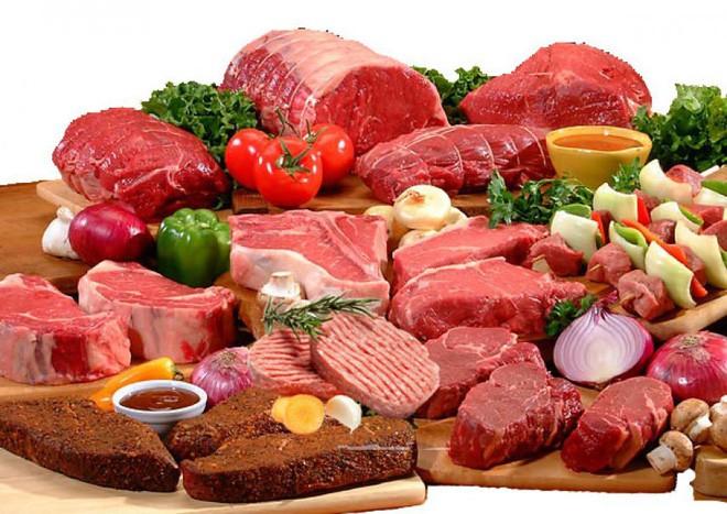 Nam giới ăn nhiều thịt đỏ hoặc các sản phẩm từ sữa có nhiều chất béo dễ mắc ung thư tuyến tiền liệt.
