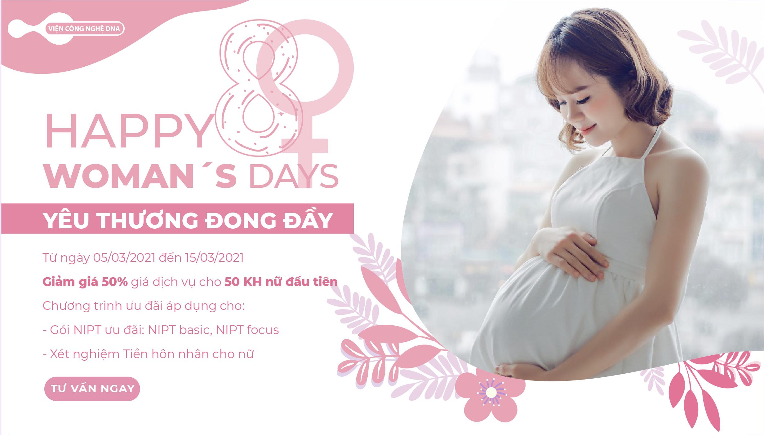 Happy women's day – Yêu thương đong đầy