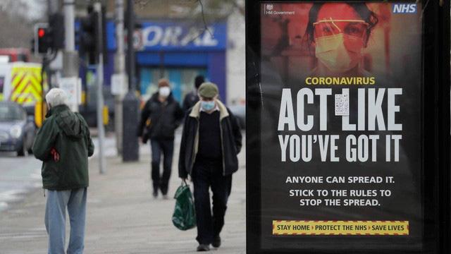 """Có thể có tới 2 triệu người tại vùng England (Vương quốc Anh) mắc hội chứng """"COVID kéo dài"""" (Ảnh: CNN)"""